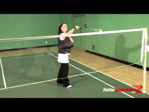 Badminton Champion Secret - How Do I Hit the Backhand Net Shot?