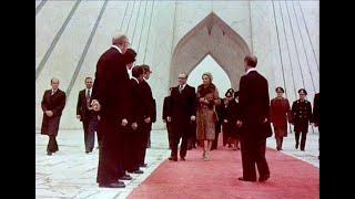 مراحل ساخت و افتتاح میدان شهیاد (آزادی)توسط محمدرضا شاه پهلوی در سال 1350