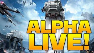 DICE Star Wars Battlefront: ALPHA IS LIVE!