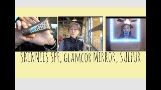 VLOG: SKINNIES SUN GEL, RIKI SKINNY MIRROR, SULFUR MASKS| DR DRAY