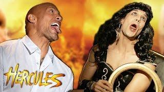 Dwayne Johnson THE ROCK vs XENA (#Hercules meets Daniele Rizzo again)