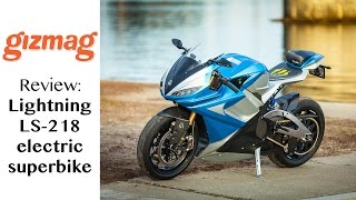 Review: Lightning LS218 - the world's fastest superbike is electric