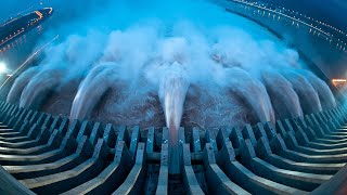 Emergency water discharge from the dam TOP 25 -=HD=-