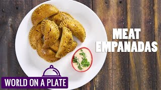 How to make Meat Empanadas | World on a Plate | Manorama Online Recipe