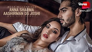 AASHIRMAN DS JOSHI & ANNA SHARMA | GANGSTER BLUES COUPLE | MEGA-MILLENNIALS | M&S VMAG
