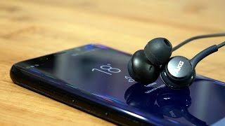 Galaxy S8 AKG Earbuds Review: Best phone accessory of 2017?