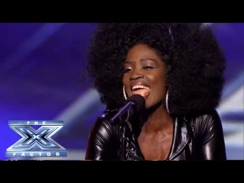"Lillie McCloud - Crowd-Surprising Cover of CeCe Winans' ""Alabaster Box"" - THE X FACTOR USA 2013"