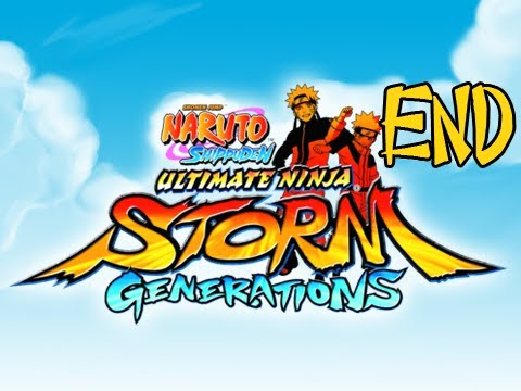 Naruto Shippuden Ultimate Ninja Storm Generations Walkthrough Part 32 Series Finale Ending