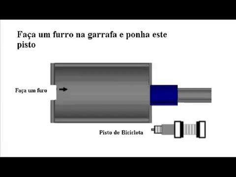 Tutorial Básico de uma arma de ar comprimido caseira HomeMade AirGun