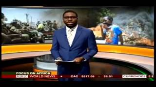 Zambia riots Residents of lusaka clashed with police over vendor ban