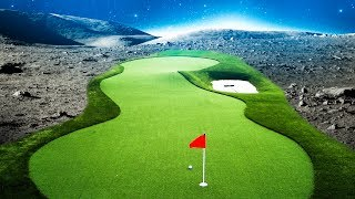 SPACE DUNKS IN SPACE! - GOLF IT