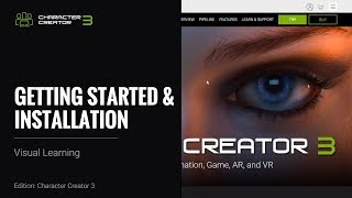 Character Creator 3 - Getting Started & Installation
