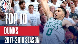 Top 10 Dunks: 2018 NBA Season