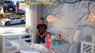 We Bought a New House and New Cars! House Tour and Car Walk Around Video. Hulyan and Maya