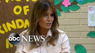First Lady Melania Trump visits Texas to see migrant children separated from parents