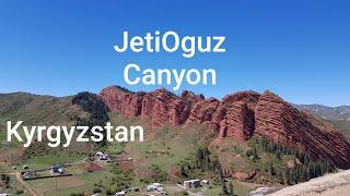JetiOguz Canyon Kyrgyzstan Seven Bulls Rock