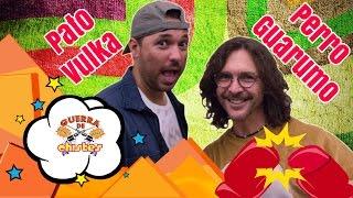 Perro Guarumo  se enoja con Pato Vulka en Guerra de Chistes