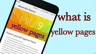yellow pages feature how to use