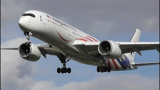 Evening Plane Spotting at London Heathrow Airport, LHR   23-03-18