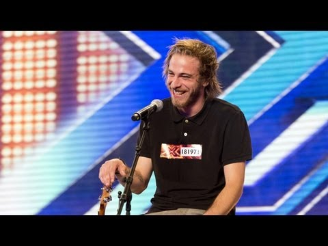 Robbie Hance s audition Damien Rice s Coconut Skins The X Factor UK 2012