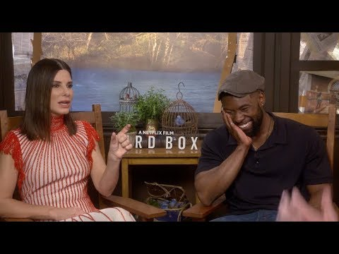 Sandra Bullock thought she was going to have a nervous breakdown after ROMA Bird Box interview