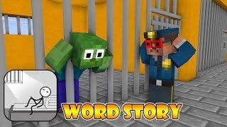 Monster School : WORDS STORY CHALLENGE - Minecraft Animation