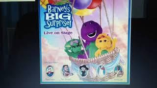 Barney Big Surprise Live On Stage I Love You