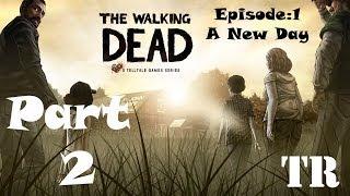 The Walking Dead Game [HD] Bölüm 1 Tam Çözüm - Part 2 - Yorumsuz Türkçe Altyazılı