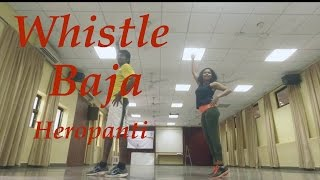 Whistle Baja - Bollywood Dance Fitness | Zumba Choreography | Tiger Shroff - Heropanti