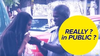 Young Girl tries to Smoke in India | How people Reacts in Public | Epic Prank