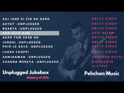 Xxx Mp4 Unplugged Jukebox Arijit Singh Atif Aslam Darshan Raval Best Of 2016 Unplugged Songs 3gp Sex