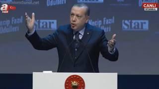 Erdoğan'ın 4. Necip Fazıl Kısakürek Ödülleri Töreninde Yaptığı Konuşma / Kudüs