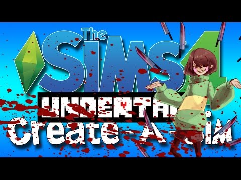 Sims 4 Undertale CAS Chara Dreamurr