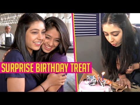 EXCLUSIVE : Niti Taylor SURPRISE Birthday Treat With Chandni Bhagwanani