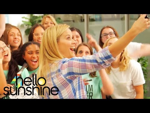 Xxx Mp4 Reese Witherspoon Educates Young Female Storytellers ATampT Hello Sunshine Filmmaker Lab 3gp Sex
