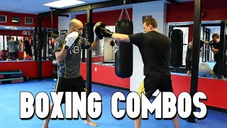 BOXING COMBINATIONS.  Combo Builder Series