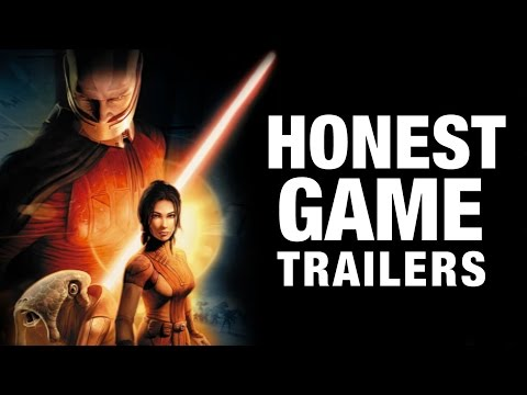 STAR WARS KNIGHTS OF THE OLD REPUBLIC Honest Game Trailers