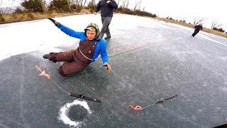 I AM NEVER ICE FISHING AGAIN!!!