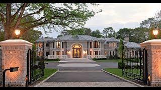 Luxury Long Island Property Tour: 18 Elmhirst Dr, Old Westbury, NY 11568