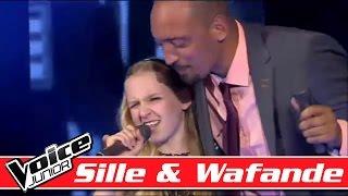Sille & Wafande synger Ray Charles - Hallelujah, I love her so - Voice Junior - Finalen