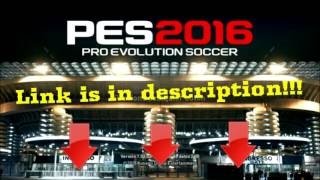 PES 2016 Patch 1.03.02. - Newest Konami Official update | Free Download