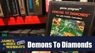 Demons to Diamonds (Atari 2600) James & Mike Mondays