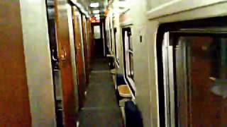 Green Line Express interior night at karachi Pakistan