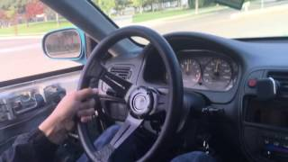 Turbo Civic Two-Step at School, Then Runs