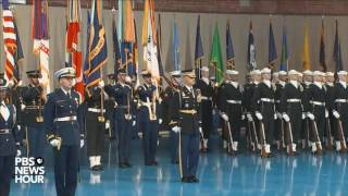 Watch full military farewell to President Obama
