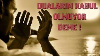 Dualarım kabul olmuyor deme! - Şeyh Muhammed El-Arifi