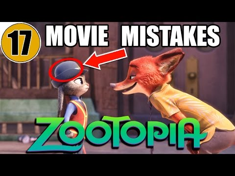 17 Mistakes of ZOOTOPIA You Didn t Notice