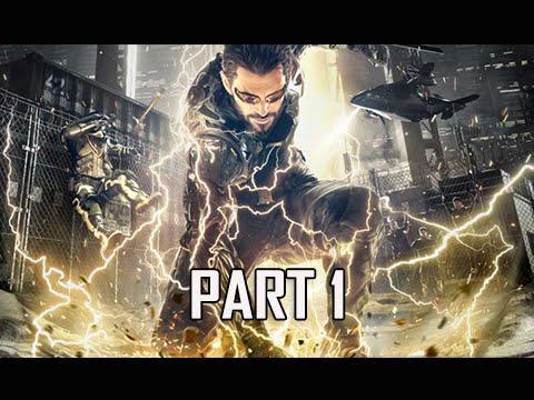 Deus Ex Mankind Divided Walkthrough Part 1 - Intro & Prologue (PC Ultra Let's Play)