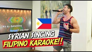 How I'M LEARNING TAGALOG! KARAOKE in a FILIPINO MANSION! 🎤🇵🇭
