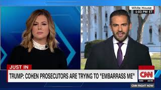 Trump  Cohen prosecutors are trying to